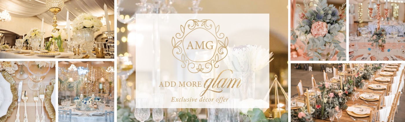 avianto wedding décor promotion