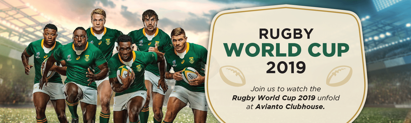 Watch the Rugby World Cup 2019 at Avianto Clubhouse West Rand Muldersdrift Johannesburg